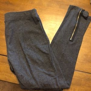 Lou and Grey riding leggings with zipper on calf